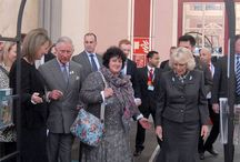 A Royal Visit / Stephanie Harrod, Managing Director of Harrod Horticultural, was delighted to welcome Prince Charles and The Duchess of Cornwall onto the Harrod Horticultural stand at The Edible Garden Show at Alexandra Palace, North London on Friday 28th March.