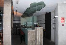 zonas comunes / Aquí están reflejadas las instalaciones de las que consta el Hotel Marina Atarazanas