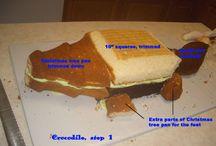Carved cakes / by LeeAnn Ochoa Verschoor Boardman