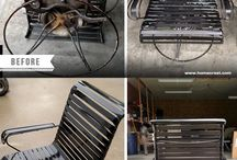 Before and After - Homecrest / Homecrest Outdoor Furniture is made to last!