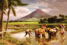 Philippine Historical Paintings / Paintings that depict local Philippine settings and daily life / by Mars Delos Reyes