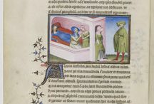 The Comedies of Terence (Maître de Flavius Josèphe) / BnF MS Latin 7907 A, The Comedies of Terence, Publius Terencius Afer, circa 1400-1407.