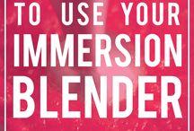 Immersion blender