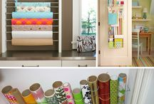 Storage Ideas... / by Amber McDonald