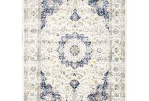 Szőnyegek / Különböző  lakás textilipar, szőnyegek