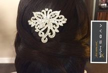 | Bridal Hair & Makeup / Wedding hair and makeup ideas for the bride and the bridesmaids