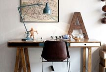 Przestrzenie w których chce się pracować / Biura, biurka, pokoje które inspirują do stworzenia własnego sanktuarium dla twórczej pracy