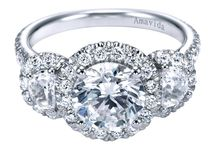 Halo Engagement Rings / Love