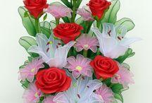 Flowers nylon