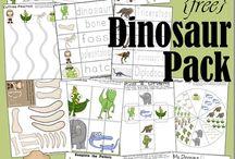 Dinosaur theme
