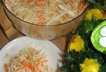 saláty zeleninove i ovocne