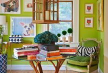"Home Trends for 2017 / This year, Pantone has chosen ""Greenery"" as the 2017 color of the year. Every year, Pantone is said to choose a color that is representative of feelings and emotions in the current world. This year's color brings with it a bright fresh perspective on the year ahead."
