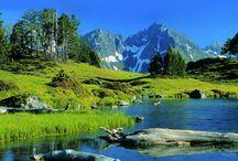 peindre la montagne