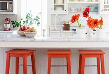 Be the red one / Interiors with red accents