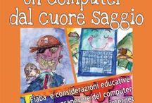 internet,virus,social,bambini,pirata,scuola,informatica,educazione,pericolo / Un libro per bambini per un utilizzo sicuro del computer