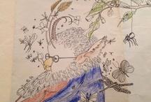 my art work / original art work - mixed media