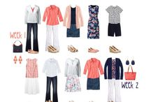 Summer wardrobe for Europe