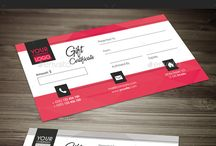 Gift Certificates / The Gift Certificates for your business such as fashion shop, restaurant, spa, salon, fitness etc.