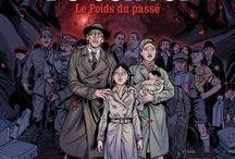 1939-1945 en BD / Toutes les bandes dessinées autour de la Seconde Guerre mondiale. A emprunter à la médiathèque de Lisieux.