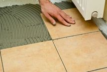 How to install ceramic tile / Lots of detailed and creative instructions about how to install ceramic tiles.