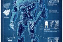 Robots n stuff / ITS FREAKIN ROBOTS MAN!!!