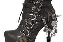Alternative Footwear / Hades Alternative Footwear SteamPunk Boots and Shoes are beautiful collection of intricately designed alternative shoes made not only with elegance but a dangerously addictive sex appeal.
