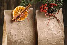 упаковка подарков новый год