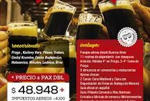 Tour Cervecero en República Checa, meca de la Cerveza Artesanal / Tour Cervecero en República Checa, meca de la Cerveza Artesanal. Salidas desde Buenos Aires, Argentina.
