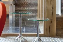 Glass Tables / Contemporary glass tables for the home and the office. Coffee tables, glass side tables, glass desks and glass meeting tables for the home and office.