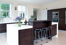 Contemporary Kitchen Private Residence, Hillsborough, Co Down / Greenhill Contemporary Kitchen