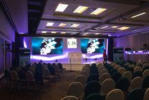 FNB / LED Screen, Sound, Lighting, Staging & Event Set