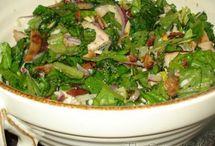 Food: Salads / by Christina@TheFrugalHomemaker.com
