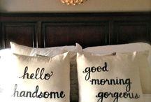 Pillow comfort.... / by Kristyn 💋💋💋💋