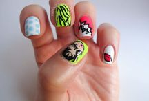 Character based Nail Art / Disney, Sesame Street or any other characters that make us smile