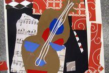 Guitares cubistes