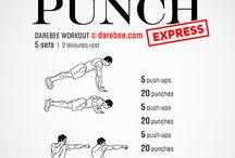 punch bag exercises