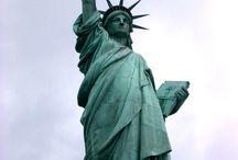 Místa, kam se chci podívat ve Spojených Státech Amerických / Inspirují mě ta místa, která v sobě mají magickou energii. Zanechávají ve mě odkaz z minulosti všech předků, kteří se tam vyskytovali. Do budoucna mi tak umožní načerpat energii s jejíž pomocí pak lépe dokáži pochopit co se v minulosti stalo a tato zkušenost pak mi dá sílu a odvahu jít dopředu a uskutečňovat vize, které mám a utvářet svět lepší než zatím je.