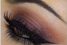 Eye Make-up & hairstyles