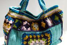 carteras y bolsos a crochet