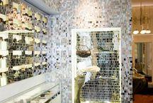 Ladenbau / Gestaltungsmöglichkeiten, Details und Inspiration für Fliesen und Stein für Läden, Cafes, Bars und Restaurants. Mit geringem Aufwand Atmosphäre schaffen - pflegeleichtes Design