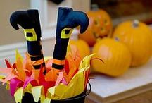 Friendly Halloween Decorating Ideas / Spread the cheer! From porch to mantel, follow these playful and creative decorating tips to cast an enchanting spell over your home! / by Party City