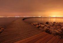 Walk on Water / docks, piers, boardwalks, jetties, jetty, jettys, steps, stairs, ocean, sea, water, beach, sand, summertime, vacation, rivers, walkways, serene, fun time, outdoors, lakes / by Spirit Healer