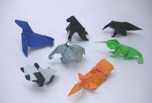 動物 - 折り紙