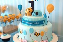 Cakes - 1st & Early Birthday