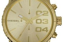 Diesel Mens & Womens Watches / Diesel watches are the neo-classic way to look at the modern life. A Diesel watch is a staple accessory in the power-dresser's wardrobe, but its vast range of styles and designs make them anything but typical.