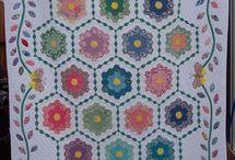 Quilts - Hexagons / Hexies