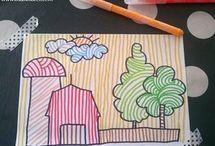 Come imparare a colorare nei bordi