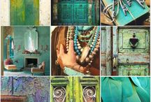 Feeling At Home / Mood board for home style, colors, decoration, ideas...
