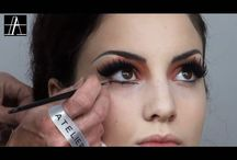 maquillaje moulin rouge