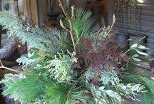 kerst groendecoraties